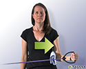 External rotation with band